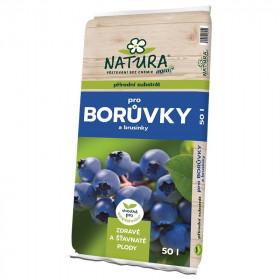 Substrát Natura pro BORŮVKY a BRUSINKY, balení 50 l