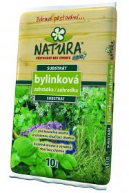 Substrát pro bylinky, Natura BYLINKOVÁ ZAHRÁDKA, balení 10 l
