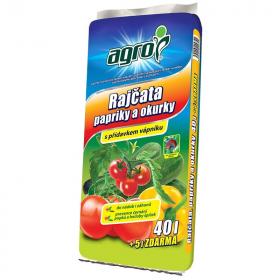 Substrát pro rajčata, papriky a okurky 45l
