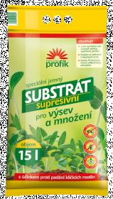Supresivní substrát pro výsev a množení, Forestina PROFÍK, balení 15 l