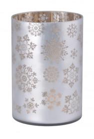 Svícen na svíčku Classic, Yankee Candle Snowflake Frost