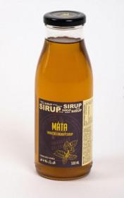 Tradiční bylinný sirup, Hradecké delikatesy Máta, 500 ml