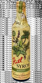 Tradiční bylinný sirup, Kitl Syrob Mátový, 500 ml