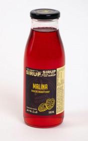 Tradiční ovocný sirup, Hradecké delikatesy Malina, 500 ml