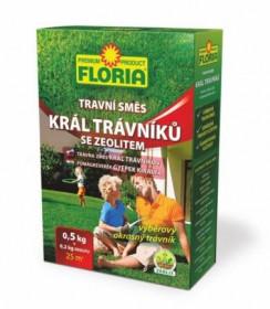 Travní směs se zeolitem Floria, Král trávníků, balení 0.5 kg