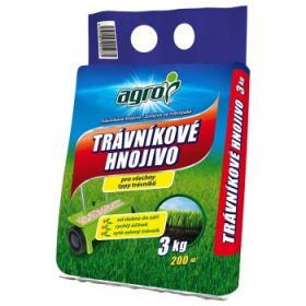Trávníkové hnojivo Agro, balení 3 kg