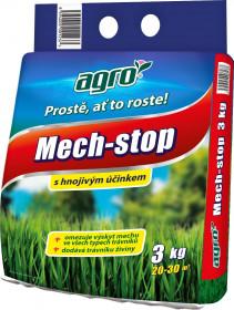 Trávníkové hnojivo Agro STOP MECHU, balení 3 kg