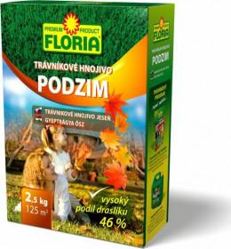 Trávníkové hnojivo, Floria PODZIM, balení 2.5 kg