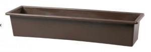 Truhlík GLORIA 40 - hladký, hnědý