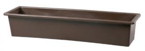 Truhlík GLORIA 50 - hladký, hnědý