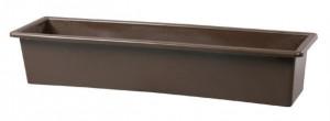 Truhlík GLORIA 60 - hladký, hnědý