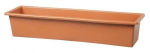 Truhlík GLORIA 60 - hladký, terakotový