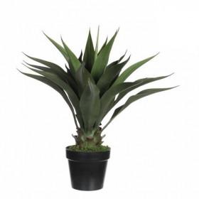 Umělá agáve v květináči Mica, výška 60 cm