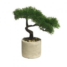 Umělá bonsaj v květináči, výška 25 cm