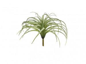 Umělá tilandsie Hutan, trs, zelená, výška 26 cm
