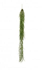 Umělá tilandsie Sprengeri, závěs, zelená, délka 94 cm