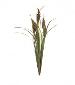 Umělá tráva pampová Monica, trs, hnědá, výška 89 cm
