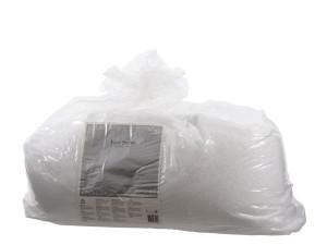 Umělý dekorační sníh, sypký, jemný, 10 kg, bílá