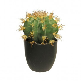 Umělý kaktus, v květináči, výška 23 cm