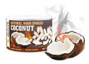 Uzené kokosové lupínky, Mixit KOKOS Z UDÍRNY, dóza, 100 g