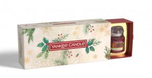 Vánoční dárková sada, Aromatické svíčky Yankee Candle 3 ks, hoření až 3 x 30 hod