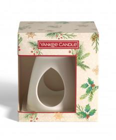 Vánoční dárková sada, Aromatické vosky Yankee Candle 3 ks, Aromalampa, provonění až 3 x 8 hod