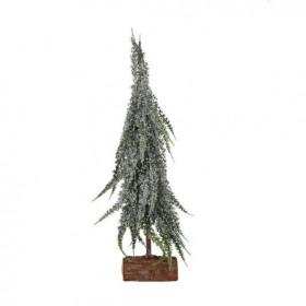 Vánoční stromek umělý na podstavci, zasněžený, výška 30cm