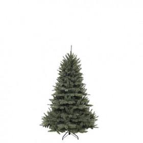 Vánoční umělý stromek, zelenomodrý, výška 185cm