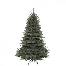 Vánoční umělý stromek, zelenomodrý, výška 215cm