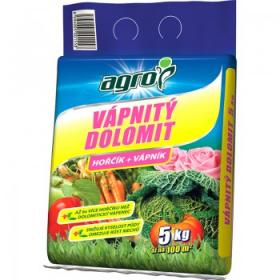 Vápnitý dolomit Agro, balení 5 kg