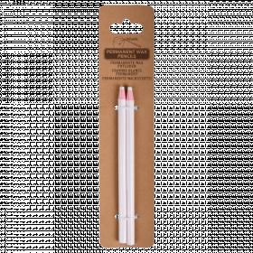 Voskovaná tužka, Esschert Design, bílá, 2 ks