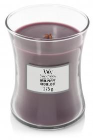 WW svíčka sklo2 Dark Poppy