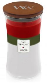 WW TRILOGY svíčka sklo3 Winter Garland