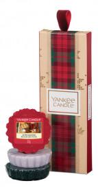 Yankee Candle dárková sada vánoční 3ks vosk