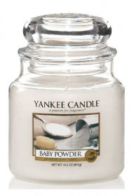 Yankee Candle svíčka classic střední Baby Powder