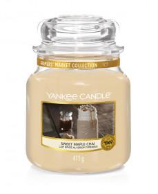 Yankee Candle svíčka classic střední Sweet Maple Chai