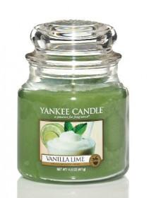 Yankee Candle svíčka classic střední Vanilla Lime