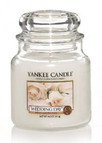 Yankee Candle svíčka classic střední Wedding Day