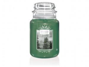 Yankee Candle svíčka classic velká Evergreen Mist