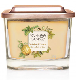 Yankee Candle svíčka Elevation střední Tonka Bean & Pumpkin