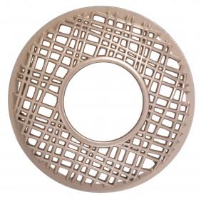 YANKEE prstenec na svíčku Claridge Gold Punched