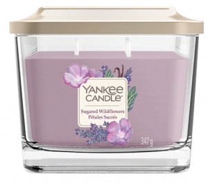 YANKEE sklo2 Elevation Sugared Wildflowers