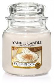 YANKEE sklo2 Spice White Cocoa