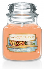 YANKEE svíčka sklo1 Grilled Peaches & Vanila
