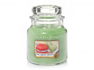 YANKEE svíčka sklo1 Macaron Treats