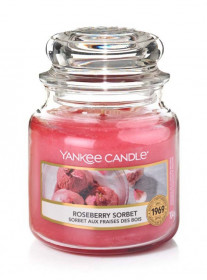 YANKEE svíčka sklo1 Roseberry Sorbet