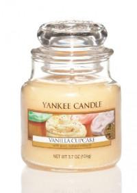 YANKEE svíčka sklo1 Vanilla Cupcake