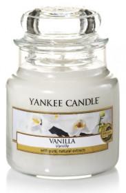 YANKEE svíčka sklo1 Vanilla