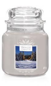 YANKEE svíčka sklo2 Candlelit Cabin