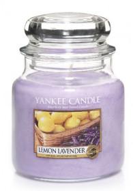 YANKEE svíčka sklo2 Lemon Lavender